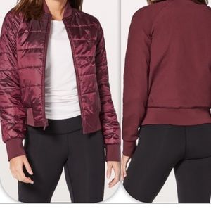 Lululemon Redwood Bomber Reversible Jacket